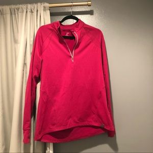 H & M Sport Athletic Jacket in Pink Sz L EUC